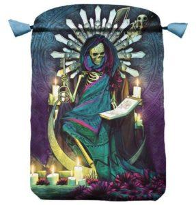01-Bolsa para tarot Santa Muerte