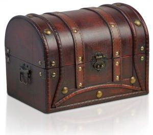 01-Caja para tarot cofre vintage