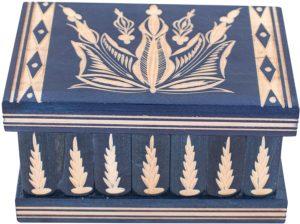 01-Caja para tarot llave oculta azul