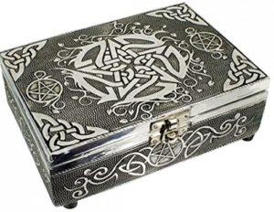 01-Caja para tarot con Pentáculo celta